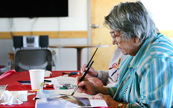 Art Class for Seniors in Boulder, CO