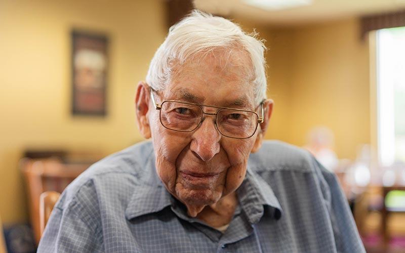 Ollie Shepard, Resident at Golden West Senior Living Boulder