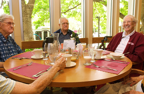 Dining Options - Independent Living Boulder Colorado