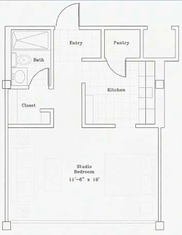 Independent Living - Studio Apartment