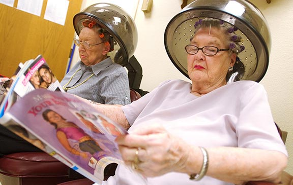 Hair Salon | Assisted Living Boulder CO