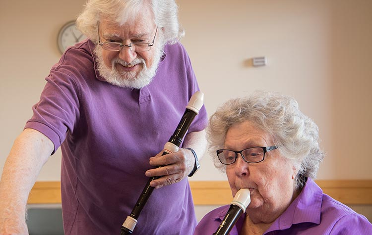 Music Class | Assisted Living Boulder CO